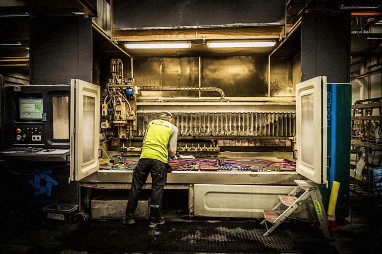 Portræt af medarbejder Glassolution Kjellerup